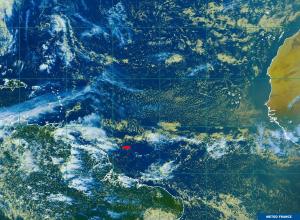 Position d'Emmanuel le 07/06/19 18h00 UTC : N4°57 / W46°10
